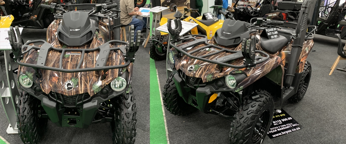Can-Am quad bike hunting edition